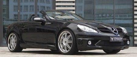 Mercedes SLK Phantom by Chrome-tec
