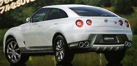 Nissan GT-R based SUV