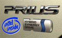 Prius Intel Inside