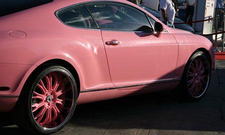 Roze poep-Bentley