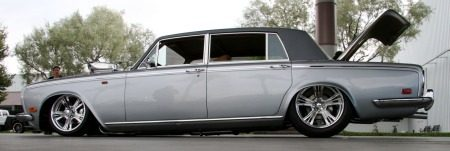 Rolls Royce Silver Shadow met 1350 pk