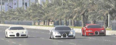Top Gear opnames Abu Dhabi