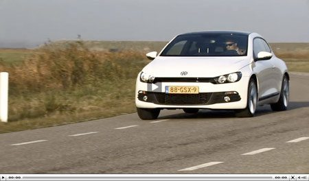 Video: Volkswagen Scirocco 2.0 TSI
