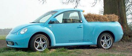 VW New Beetle custom pickup