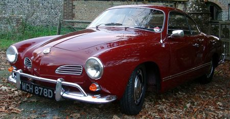 Volkswagen Karmann Ghia - Foto: Richard Child