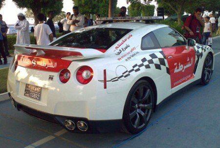 Politie Nissan GTR voor Abu Dhabi