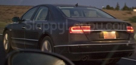 Audi A8 spyshot