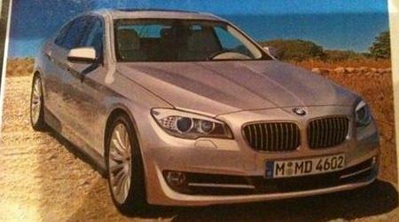 BMW 5 Serie F10 lek