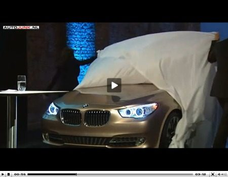 BMW 5 Serie GT Concept onthulling