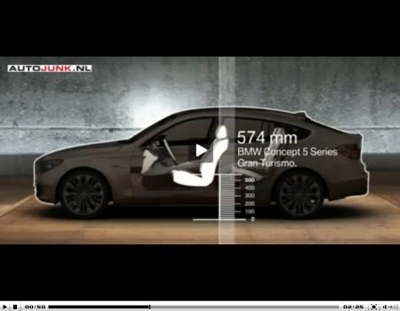 BMW 5 Serie GT Concept video