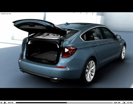 BMW 5 Serie GT video