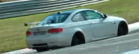 BMW M3 GT4 spyvideo