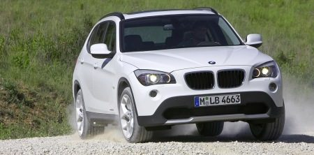 Krossen in de BMW X1