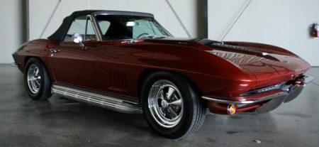 Bruce Willis Chevrolet Corvette 1967