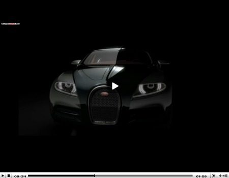 Bugatti 16C Galibier Concept video