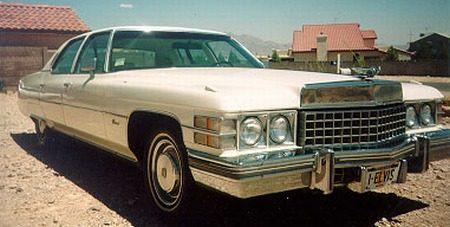Cadillac Fleetwood Brougham 1974, Elvis