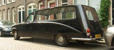 Daimler DS420 Hearse - foto Jim Appelmelk
