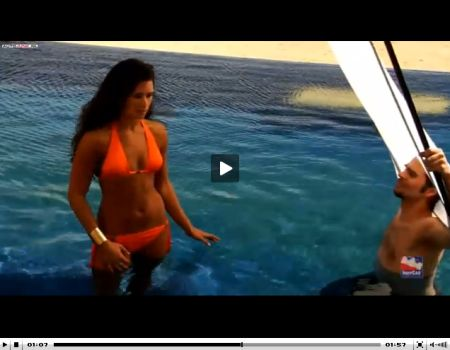 Danica Patrick in bikini video - Klik