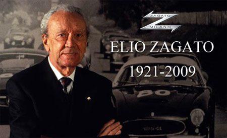 Elio Zagato overleden