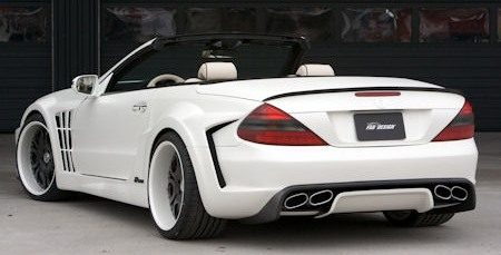 Mercedes SL Ultra Widebody