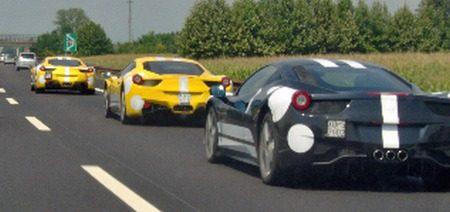 3 stuks Ferrari 458 Italia