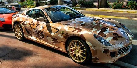 Ferrari 599 GTB Fioran camouflage