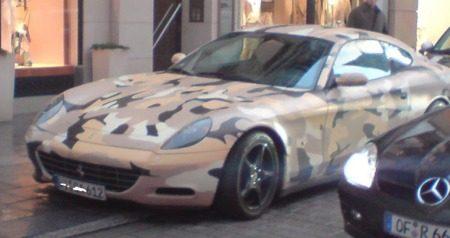 Ferrari 612 Scaglietti camouflage