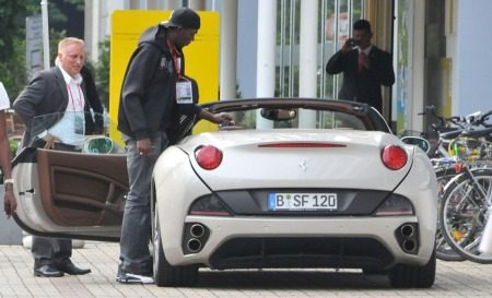 Ferrari California Usain Bolt