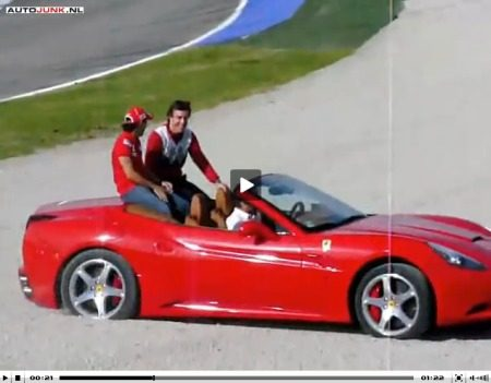 Ferrari California grindbak video