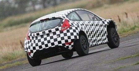 Ford Fiesta S2000 spyshot
