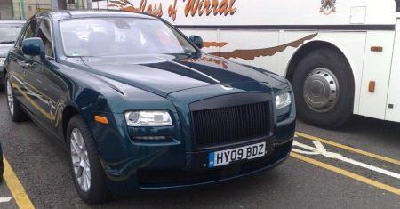 Rolls Royce Ghost spyshot