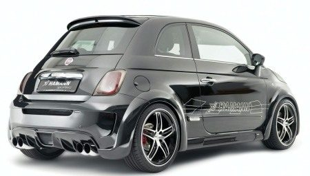 Hamann Fiat 500 Largo 265 Pk on fiat 500 fender flares