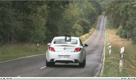 Opel Insignia OPC video