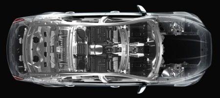 Jaguar XJ 2010 aluminium
