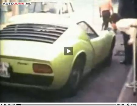 Lamborghini 1968 video