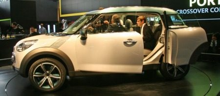MINI Crossover Concept Parijs 2008