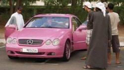 Mercedes Arabieren