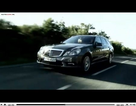 Mercedes E-Klasse Estate video