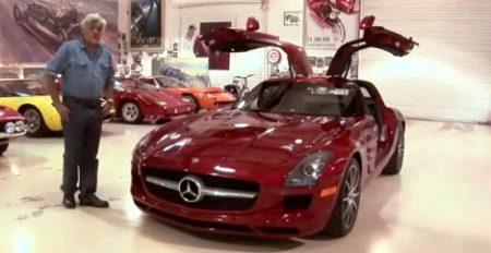 Mercedes SLS AMG Jay Leno