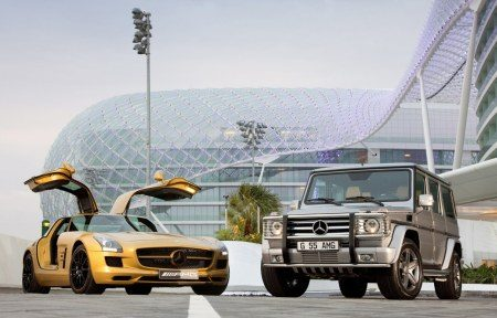 Mercedes SLS en limited edition G55