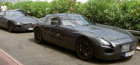 Mercedes SLS AMG spyshot
