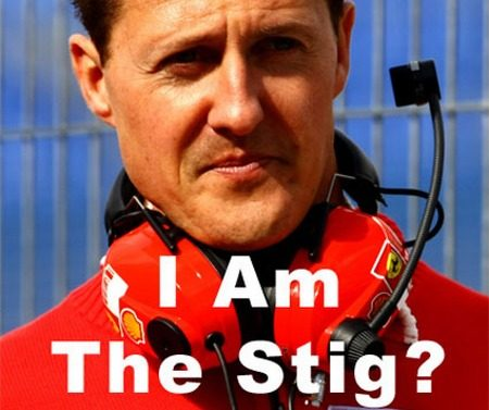 Michael Schumacher is The Stig
