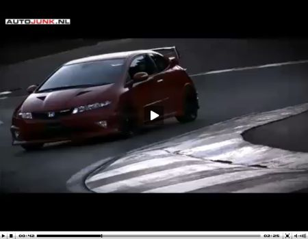 Mugen Civic Type R video