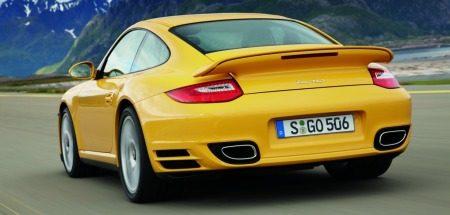 Porsche 911 Turbo 2010 Nurburgring