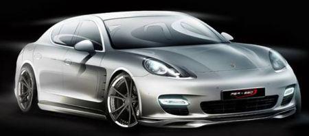 Porsche Panamera techART uitlaat