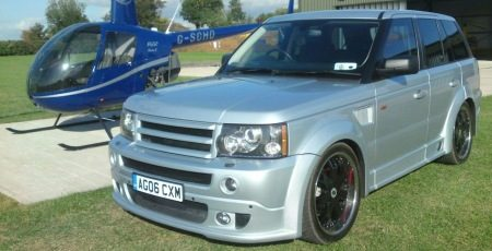 Range Rover Tuning Gone Wrong