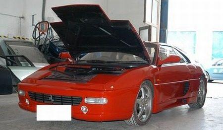 Replica Ferrari F355 crushen