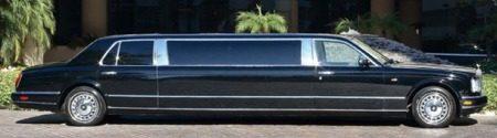 Rolls-Royce Silver Seraph Limousine Michael Jackson