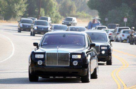 Rolls-Royce Phantoms Michael Jackson