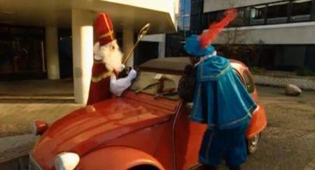 Sinterklaas Citroen 2CV